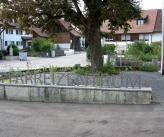 Vorplatz Pfarreizentrum