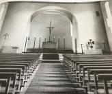 Innenraum der Pfarrkirche St. Nikolaus nach der Renovation 1964