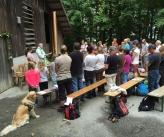 Wald-Gottesdienst, Sonntag, 7. Juni 2015 - Holzschopf Hofstetten